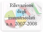 Logo Rilevazione degli Immatricolati 2007-2008